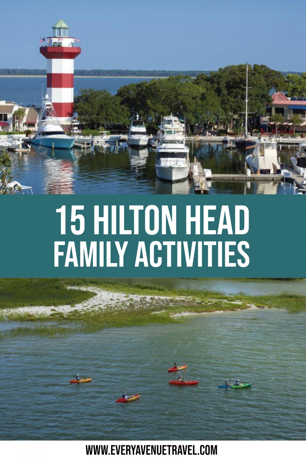 15 Hilton Head Family Activities