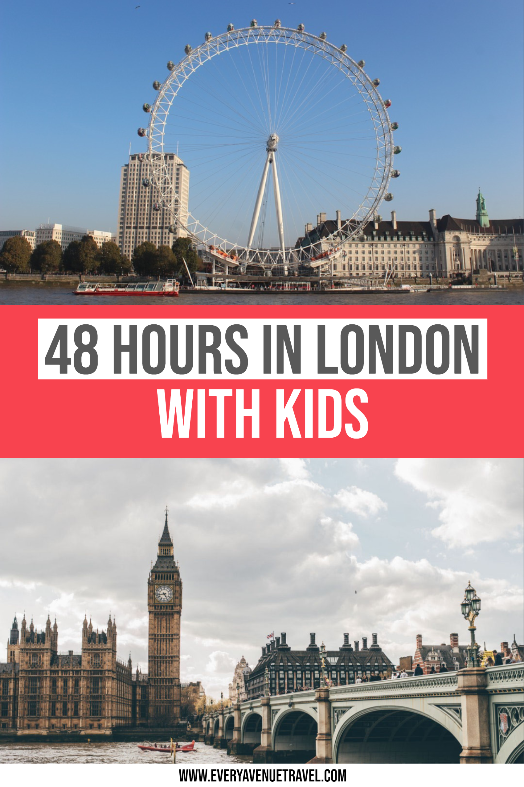 48 Hours in London With Kids
