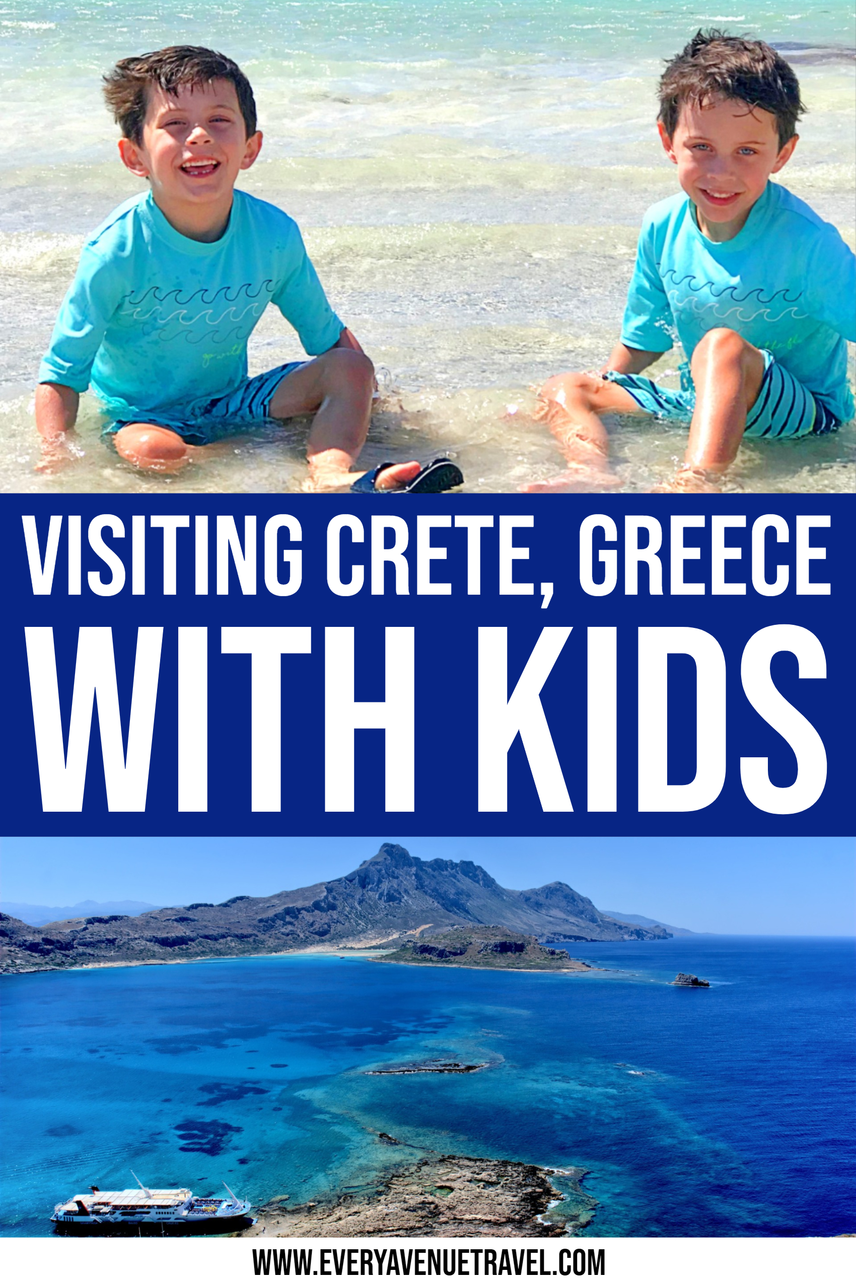 Visiting Crete With Kids