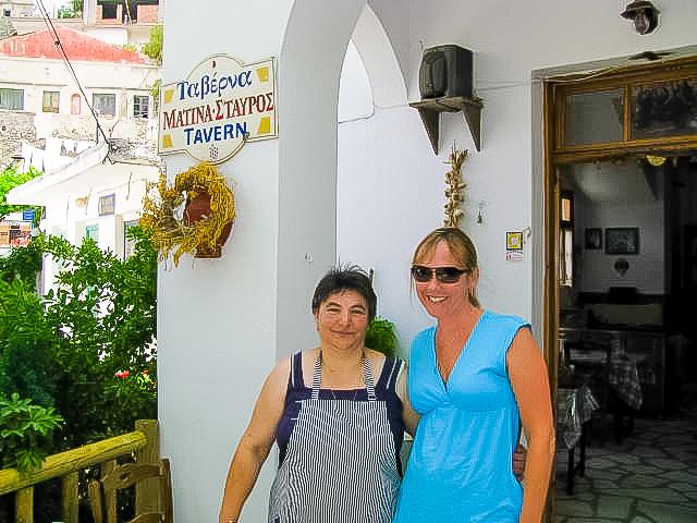Matina's Tavern Koronos Naxos Greece