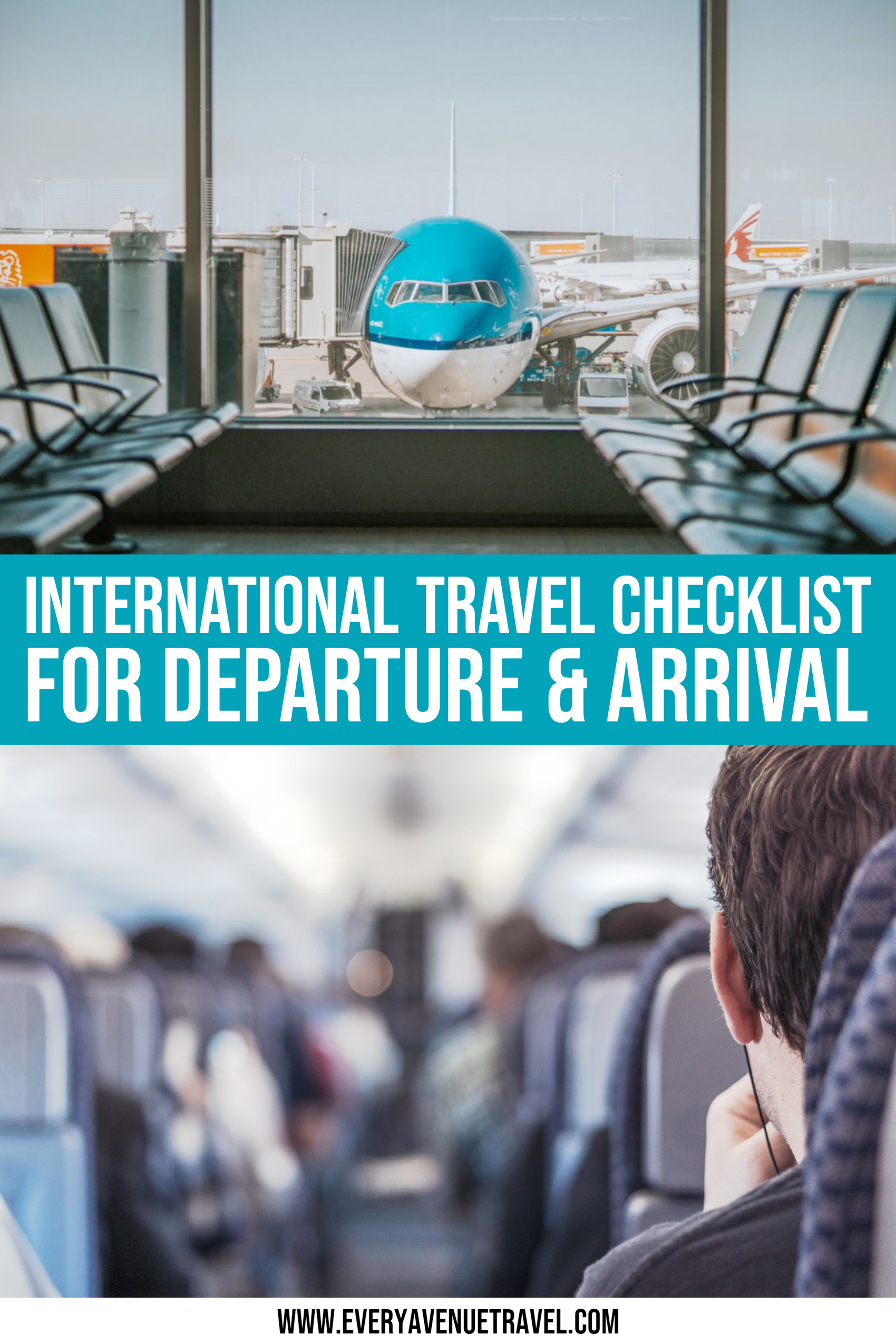 International Travel Checklist For Departure & Arrival