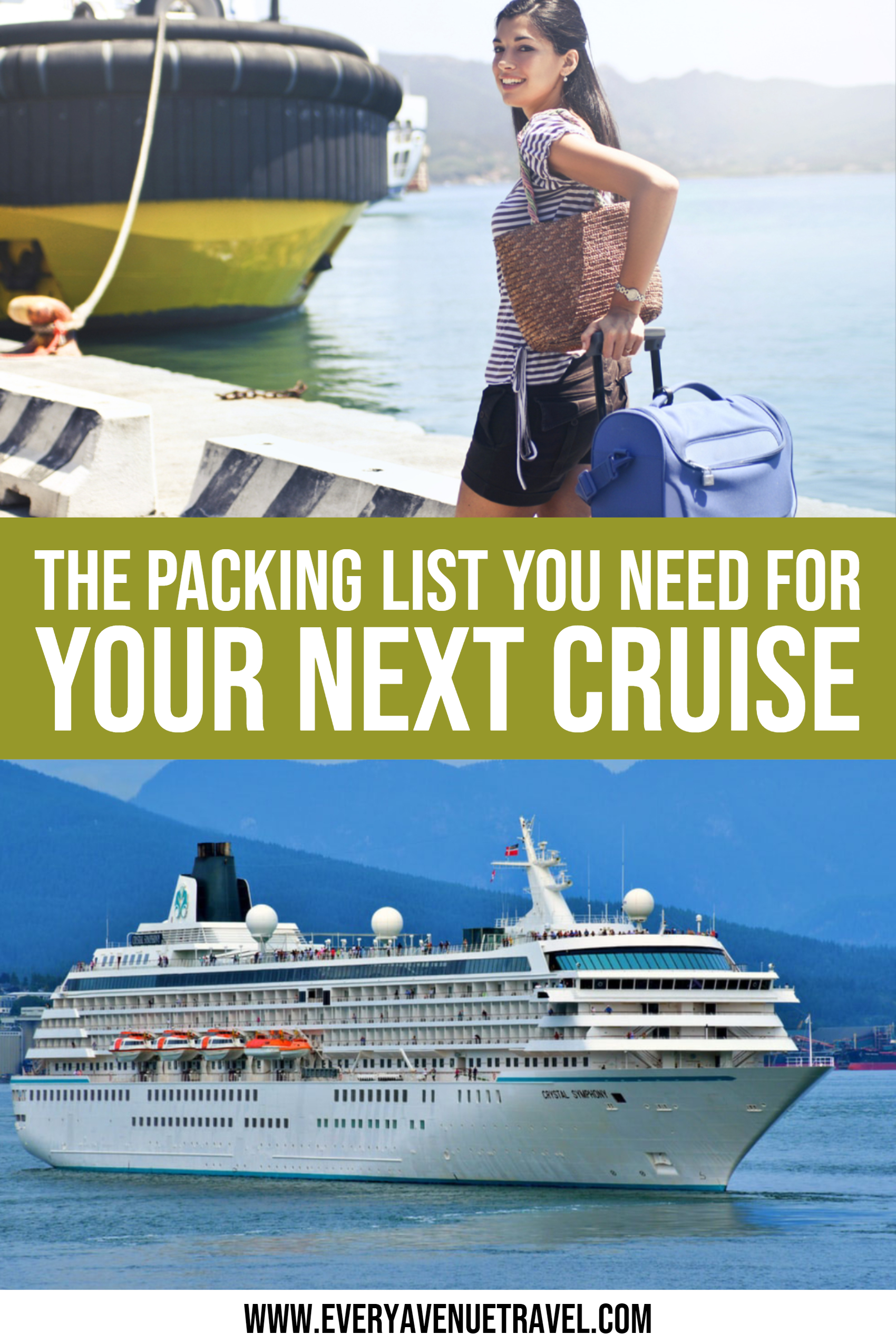 The Cruise Packing List You Need For Your Next Sailing (1)