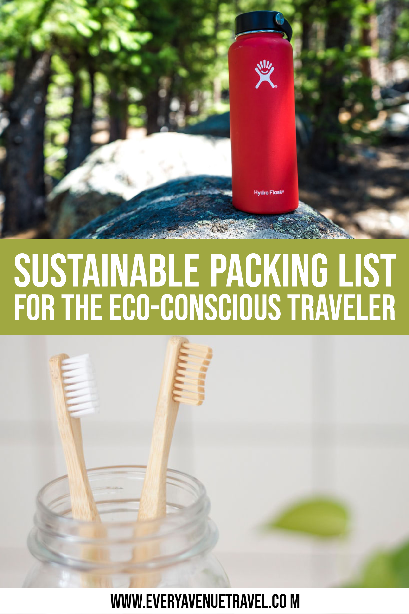 eco packing list