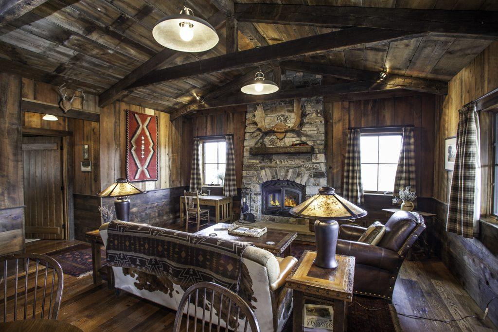 TRRC Cattail Cabin Interior