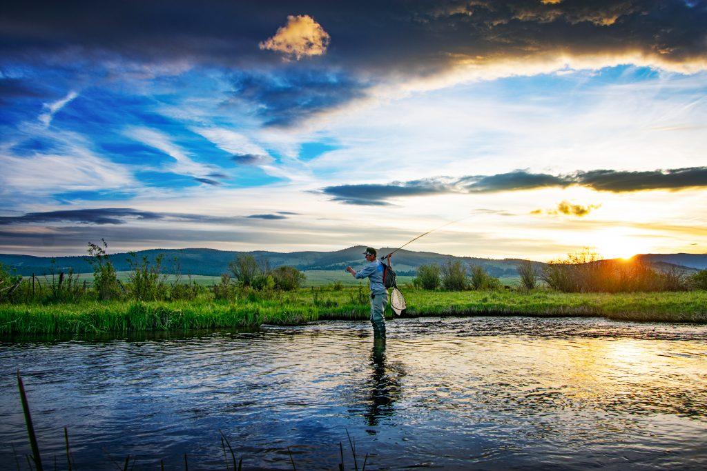TRRC Fly Fishing Sunset