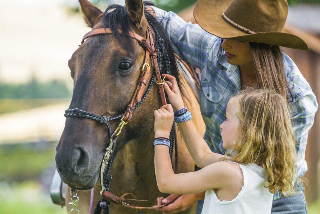 TRRC Little Grizzlies Adopt a Horse